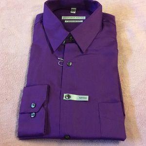 Geoffrey Beene LS Dress Shirt Size 16 / 34-35